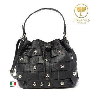 Persaman New York Italian Leather Shoulder Bag
